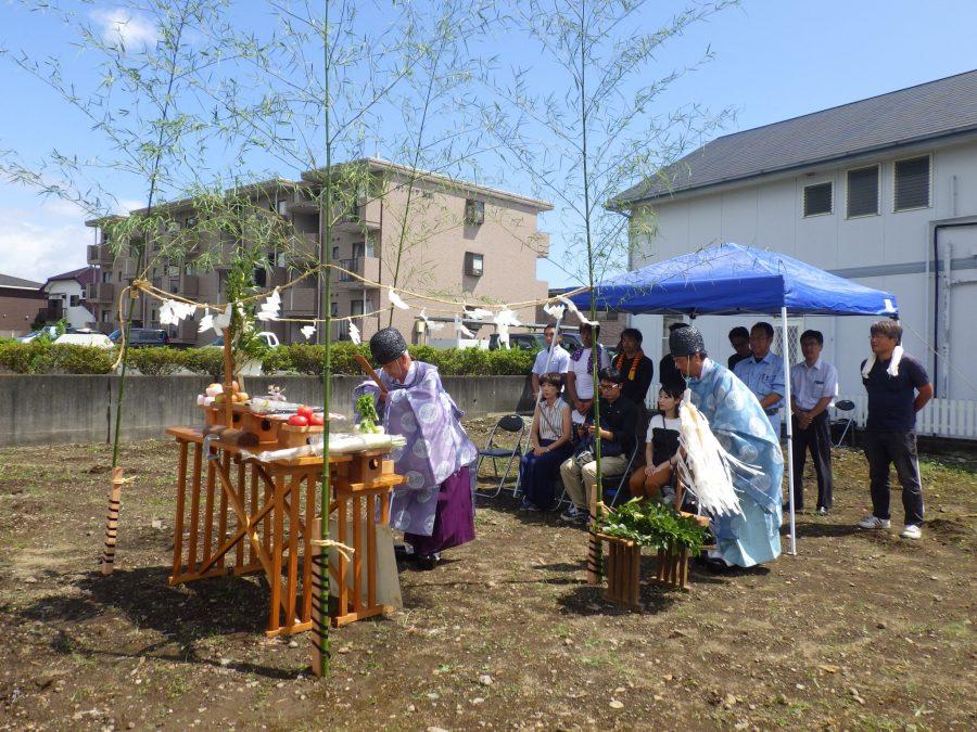 地鎮祭開催