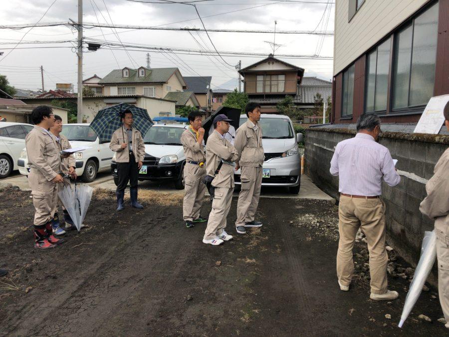 富士市伝法にて5区画分譲地販売予定