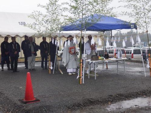 富士宮市北山 地鎮祭祭典