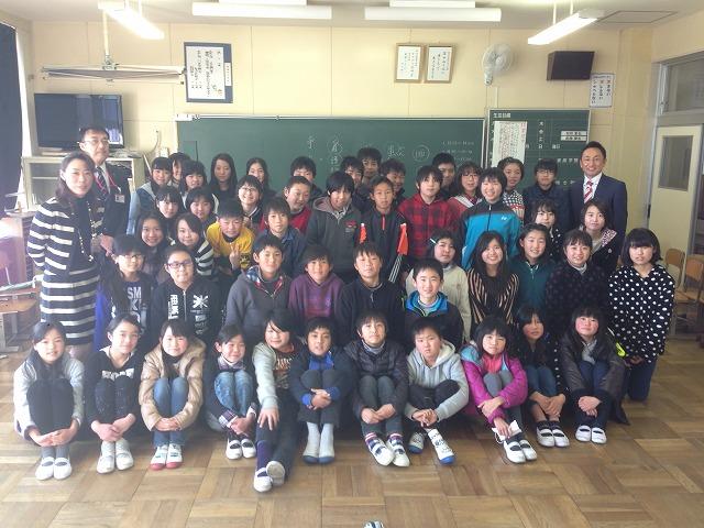 地元小学校のキャリア教育講師を務めてきました。