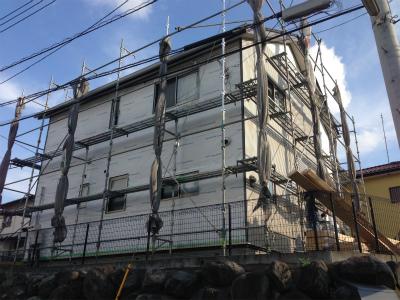 富士宮市 M様邸 外装リフォーム進捗