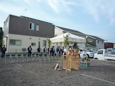 静岡県富士宮市大岩 M様邸 地鎮祭!