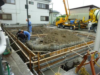 コンクリート打設工