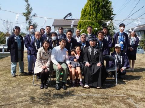 静岡県三島市 S様邸 地鎮祭と着工式